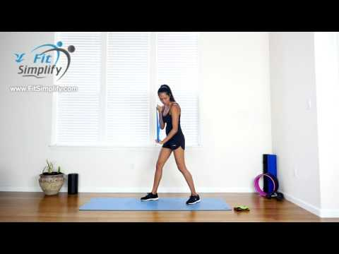 Whole Body Resistance Loop Band Workout (Fit Simplify)
