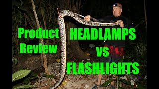 Flashlights vs Headlamps-DM Exotics