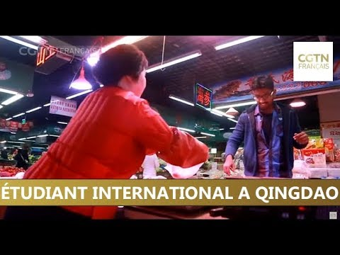 Étudiant international à Qingdao