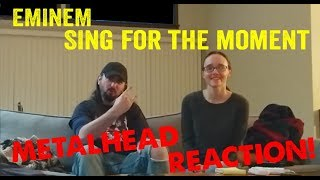 Sing For The Moment - Eminem (REACTION! by metalheads)