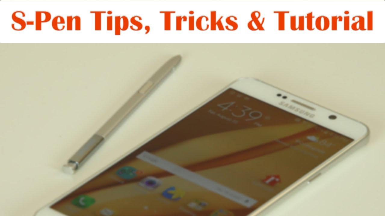 Samsung galaxy note 5 s pen tips tricks and full tutorial youtube baditri Choice Image