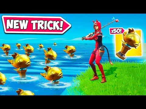 *NEW* SUPER BROKEN FISHING TRICK!!
