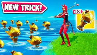 *NEW* SUPER BROKEN FISHING TRICK!! - Fortnite Funny Fails and WTF Moments! #924