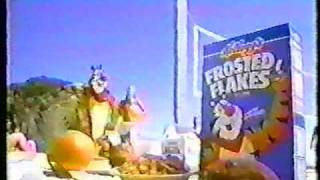 Tony the Tiger Frosted Flakes Commerical Volley Ball