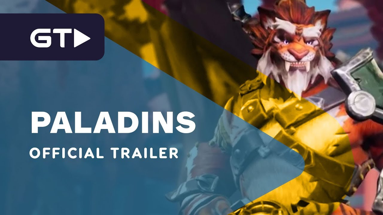 Paladins - Champion Teaser: Tiberius, the Weapons Master ...