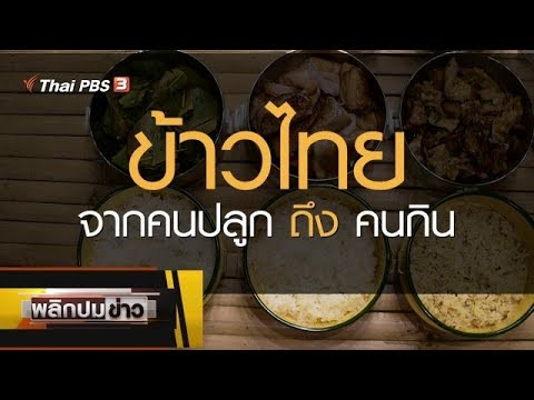 ข้าวไทย จากคนปลูกถึงคนกิน - วันที่ 22 Jan 2020