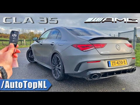 2020 Mercedes AMG CLA 35 | REVIEW POV On ROAD & AUTOBAHN (NO SPEED LIMIT) By AutoTopNL