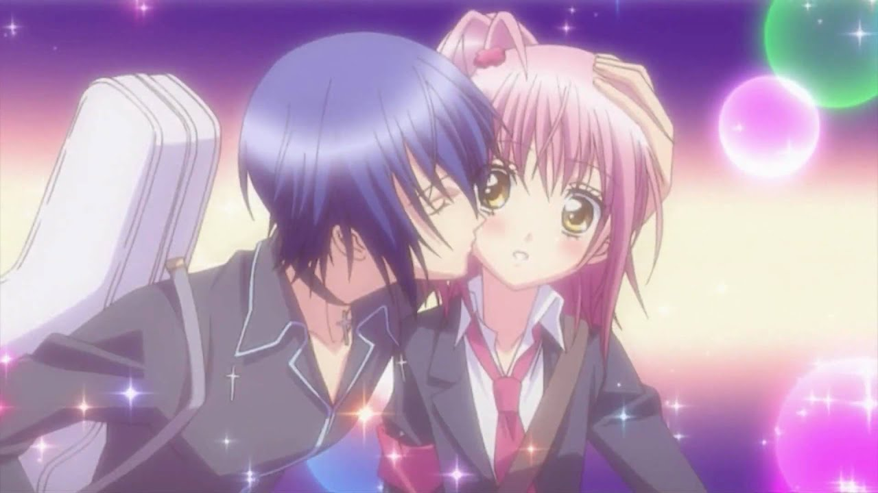 Girl Boy Kiss Wallpaper Ikuto S Kawaii Kiss To Amu Chan Youtube