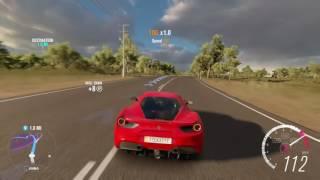 Forza Horizon 3 Xbox One S Ferrari 488 GTB Gameplay