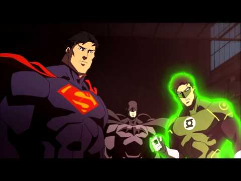 Justice League War Trailer Review/Discussion! Epic Win or Epic Fail?