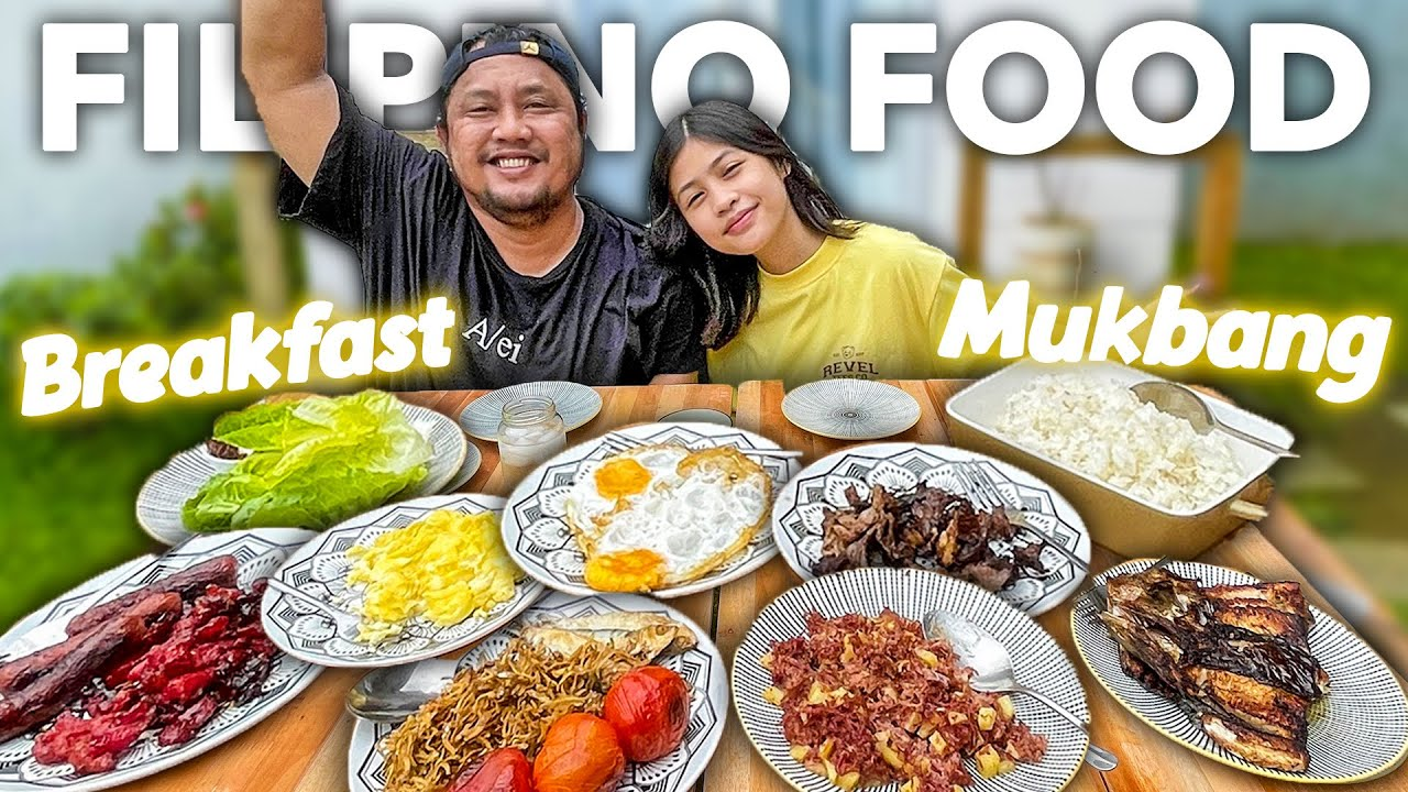 Breakfast Mukbang Q&A with CHEF MARKY (ideal boyfriend reveal haha) |Chelseah Ongsee