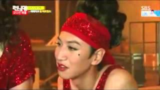 [Vietsub cut] Bi  Rain and Krystal Jung - Running Man