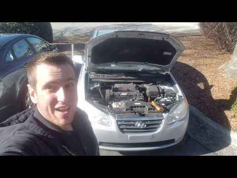 "Alternator 07-10 Hyundai Elantra Replacement ""How to"""