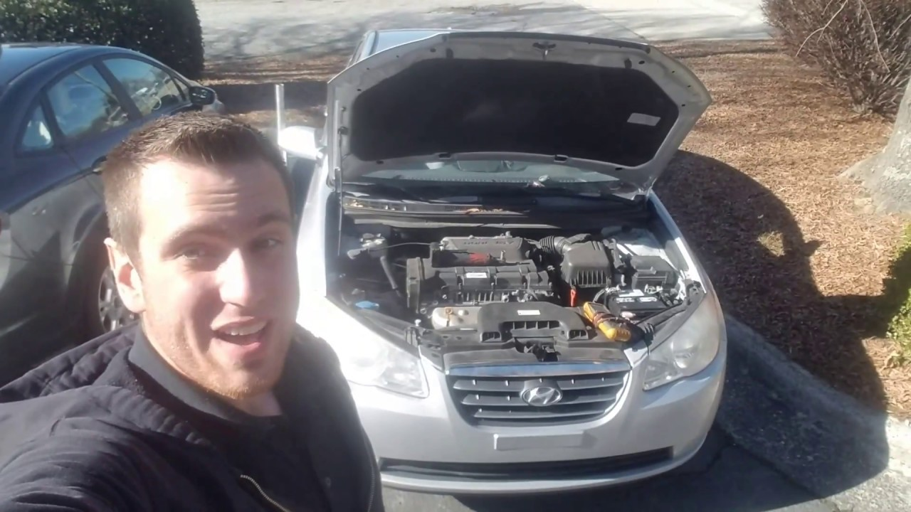 hight resolution of alternator 07 10 hyundai elantra replacement how to