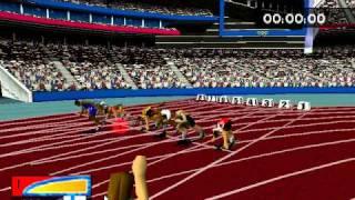 Sydney 2000 100m Gameplay