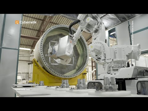 Robotic Machining Systems - Cybernetik Technologies
