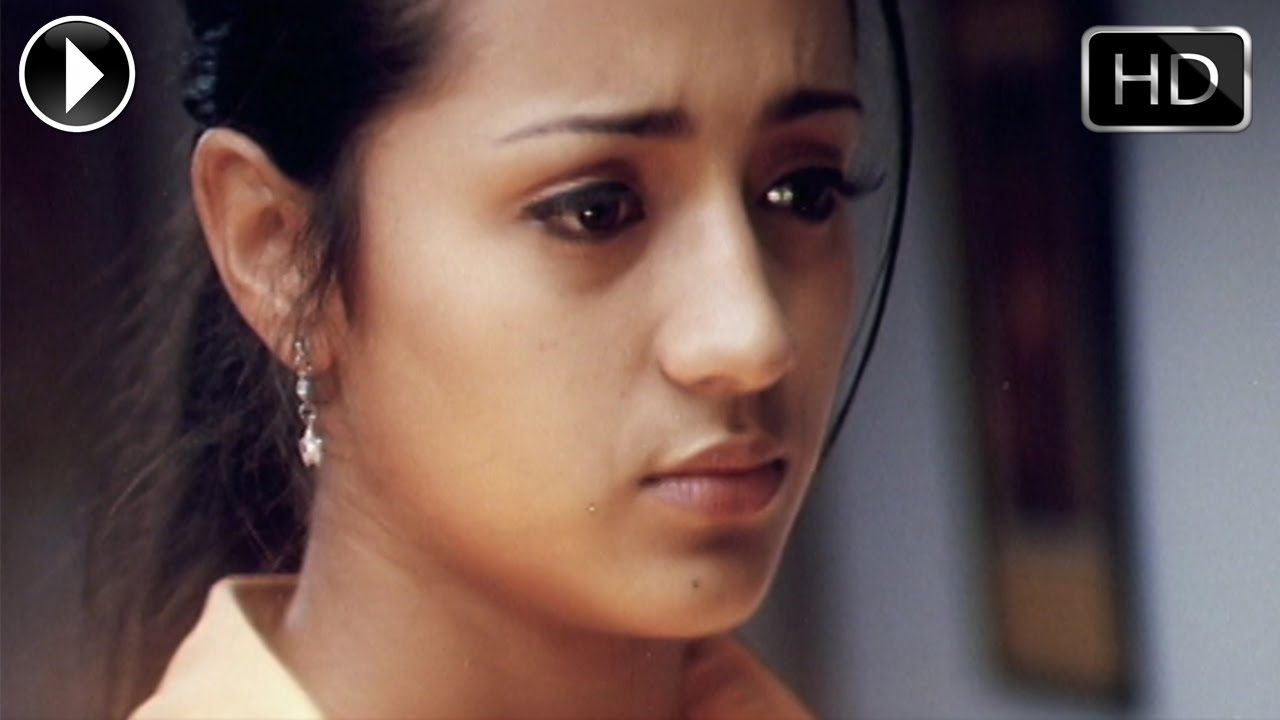Aaru movie | love & sentiment scene between surya & trisha youtube.