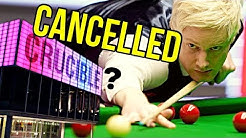 They Cancelled Snooker World Championship 2020?