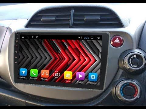 Штатная магнитола Honda Fit (2007-2013) Android (правый руль) ZOY-3186