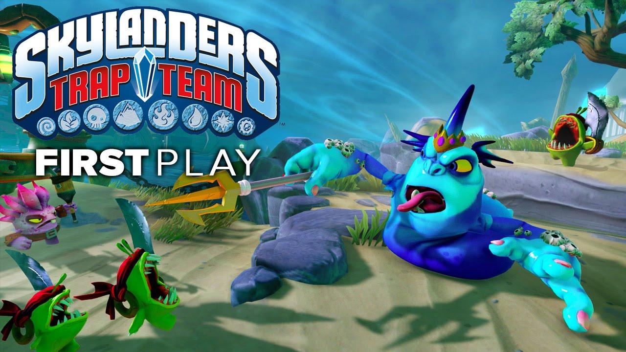First Play: Skylanders Trap Team