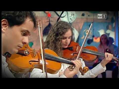 Rai 1 - Conservatori a confronto - Quartetto Arkè (Conservatorio Vincenzo Bellini di Catania)