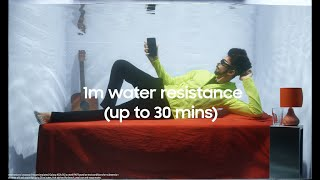 Galaxy A52s 5G   Awesome Water Resistance