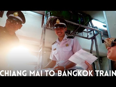 Chiang Mai to Bangkok Train | EVERYTHING YOU NEED TO KNOW