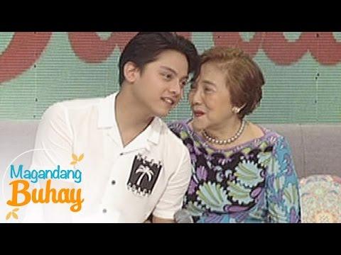 Magandang Buhay: Daniel jams with Mommy Eva