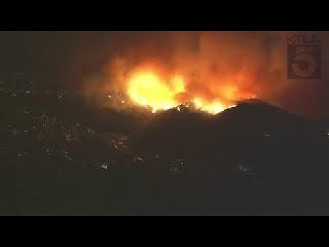 MASSIVE WILDFIRES! The weather continues to wreak havoc on Southern California wildfires
