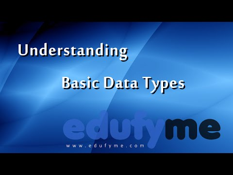 Edufyme C++ Tutorial - Level 4 Topic 1, Understanding Basic Data Types