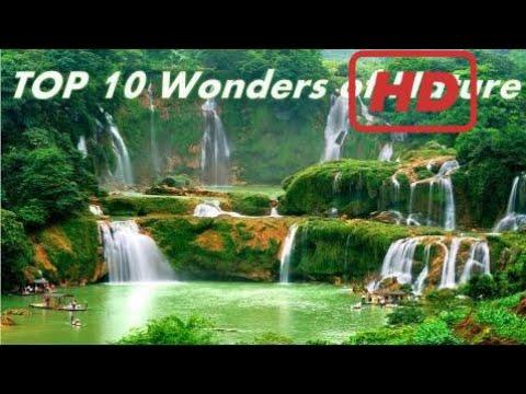 TOP 10 WONDERS OF NATURE Around The GLOBE--- MUST WATCH