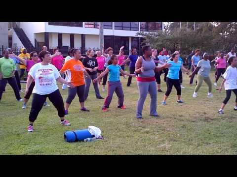 Outdoor Fitness Bahamas Zumba 2