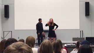 Trumbauer State 2017- Contemporary Duet Comedic Novice- Colby Cobb & Makenzie Green