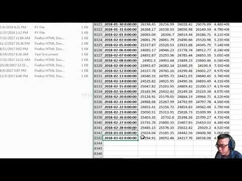 Beginner Stock Price Prediction With Python| Dow Jones Example