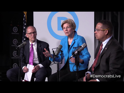 Democrats LIVE: Elizabeth Warren with Tom Perez and Keith Ellison