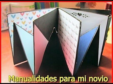Manualidades Para Mi Enamorado Mini Album De Recuerdos Regalo De