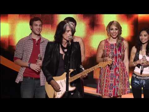 "Steven Tyler ""Happy Birthday special tribute"" American Idol 2012"