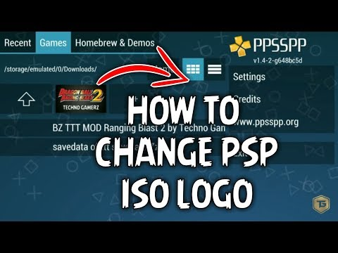How To Change PPSSPP ISO Icon | Change PSP Logo From Android