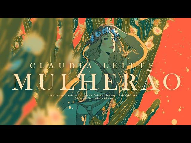 Mulherão - Claudia Leitte (Lyric Video)