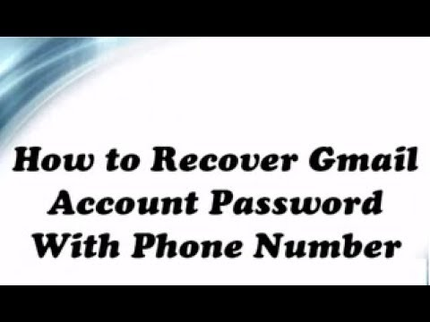 gmail forgot password recovery without phone number