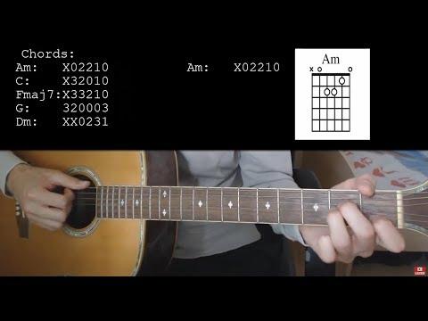 Noah Cyrus – July EASY Guitar Tutorial With Chords / Lyrics