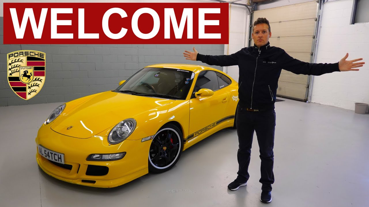 The NEW Porsche Network HQ - My Amazing New Man Cave Big Garage Tour - 1000 Square Foot