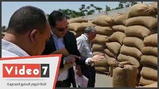 هيئة الرقابة الإدارية تشن حملات على صوامع وشون تخزين القمح بالجمهورية