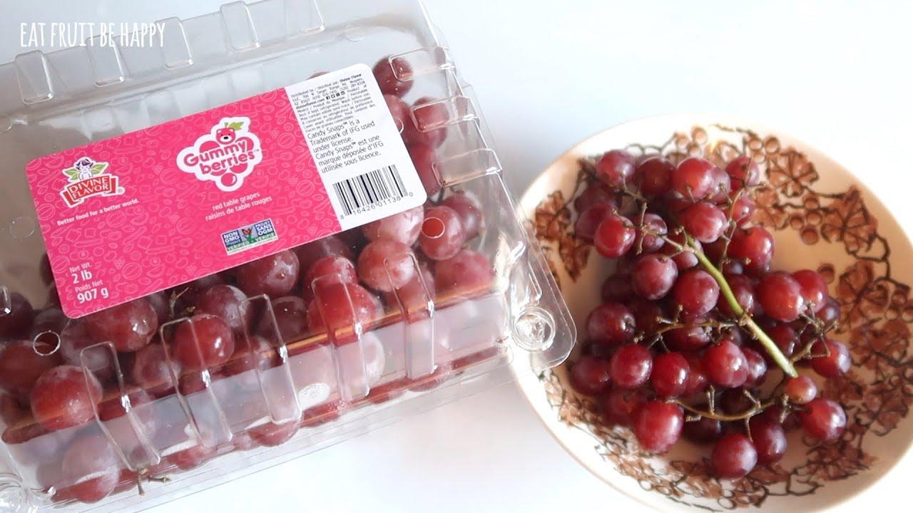 Download Gummy Berries Grapes Review Taste Test Trader Joe's