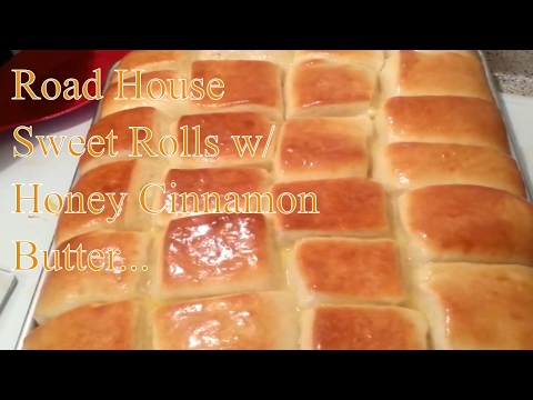 How to Make Road House Sweet Rolls HOMEMADE | ROAD HOUSE SWEET ROLLS RECIPE