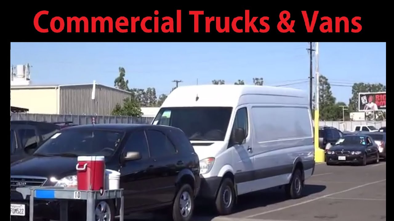 Truck Auction Fleet Vehicles Commercial Auto Auctions Specialty Sales