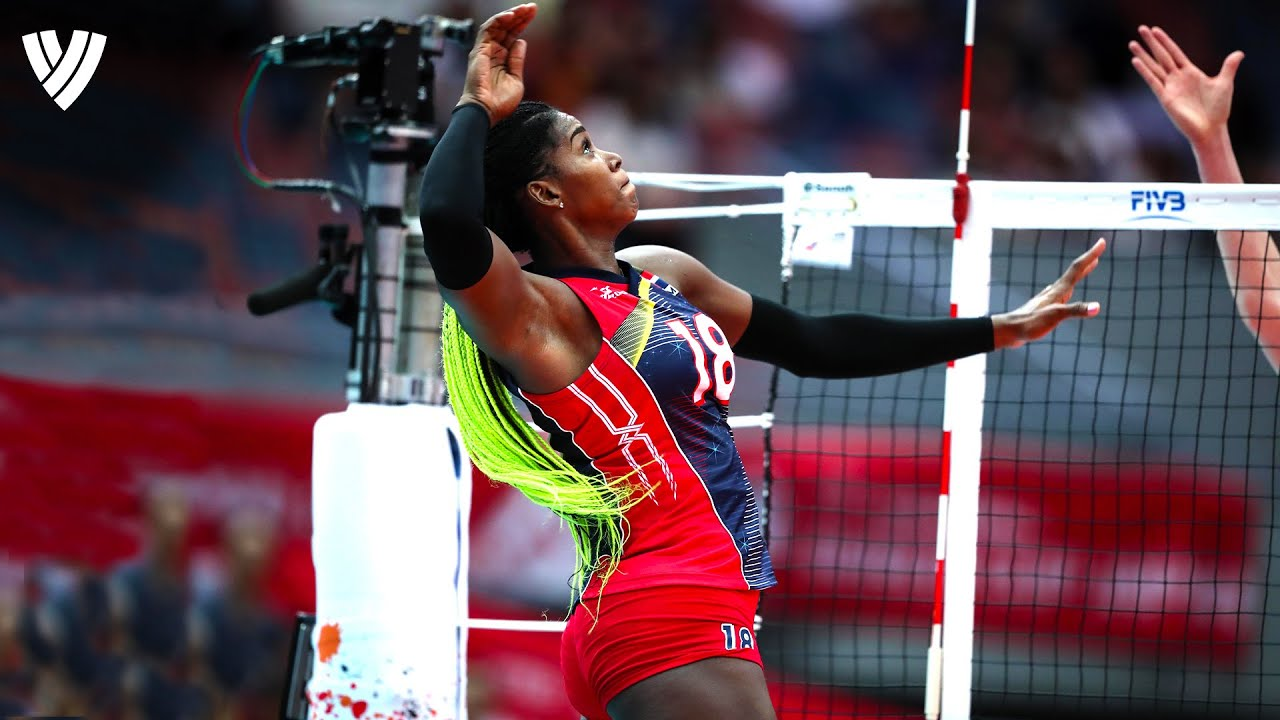 Bethania De La Cruz - Caribbean Monster of the Vertical Jumps! | Best of the Volleyball World
