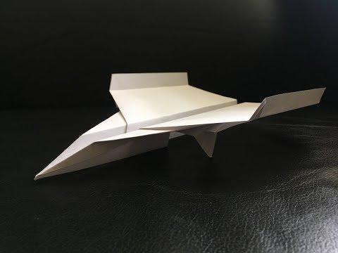Paper Aircraft Construction – Jump Jet