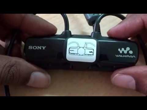 sony mp3 player NWZ-W273S review