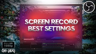 💻How to Record PC Screen in 1080p 60 FPS w/ OBS Studio 2018! (Best Settings) *NO LAG*